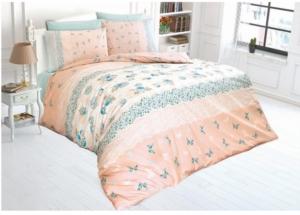 Belenay Çift Kişilik Uyku Seti - Narin V2 Su Yeşili