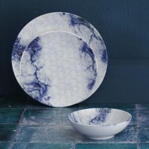 Güral Porselen 24 Parça Elegant Bone Yemek Seti Reaktif DG 122