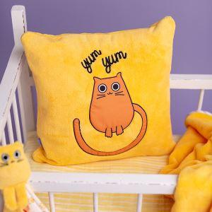 Milk and Moo Tombiş Kedi Uyku Arkadaşı,Battaniye ve Yastık Takımı