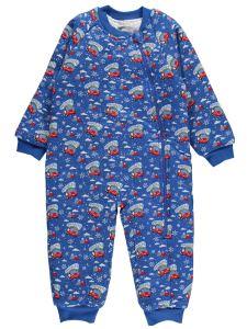 Düt Düt Erkek Çocuk Uyku Tulumu 2-5 Yaş Saks Mavisi
