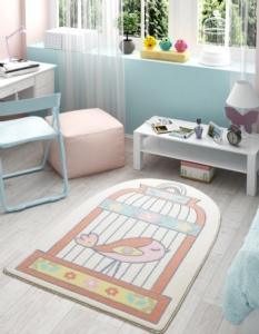 Confetti Home Happy Cage Somon Oymalı Çocuk Halısı 100x150 cm