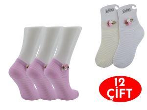 Özmen Klimalı Kız Aksesuarlı Çorap 12
