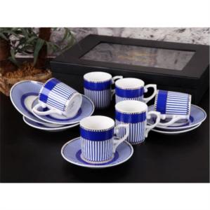 Gönül Porselen Kahve Fincan Takımı G1964