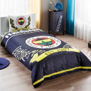 Taç 3478 Lisanslı Dört Mevsim Set Tek Kişilik Fenerbahçe