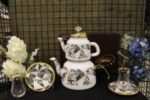 Beyler Vintage Çaydanlık Ve Çay Seti Prizma