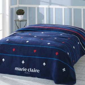 Marie Claire Çift Kişilik Carte Pamuklu Battaniye