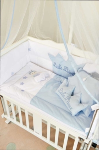 Aybi Baby Little Prince Anne Yanı Beşik Tekstili 4301