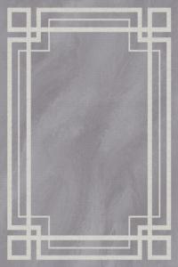 Merinos Halı Nova Hand Curved Serisi 23506 95 Grey