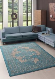 Merinos Halı Marakesh Serisi 1002 30 Turquoise