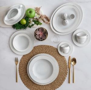 Güral Porselen 84 Parça Yuvarlak Tolstoy Yemek Takımı 5500