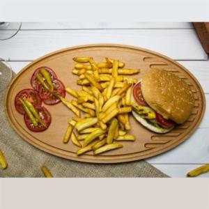 Joy Kitchen Kanallı Steak Tahtası - 42Cm UP00270