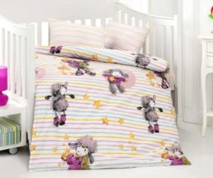 Altınbaşak Kuzucuk Pembe Bebek Uyku Seti