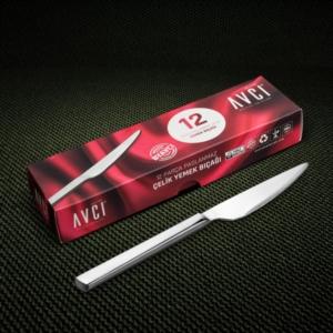 Avcı 12 Parça Klas Yemek Bıçağı KLS-12