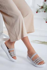 Moda Eleysa Fortuna Detay Yüksek Taban Terlik MODAELYSSA1089