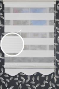 Klipart Açık Kasa Zebra Perde Çamlıca 01