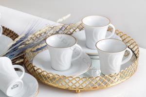 Güral Porselen 12 Parça Soprano Türk Kahvesi Takımı