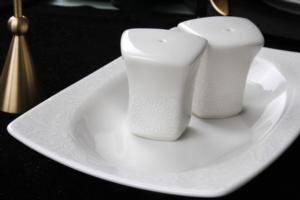 Güral Porselen 61 Parça Caroline Kare Bone Yemek Takımı 6109