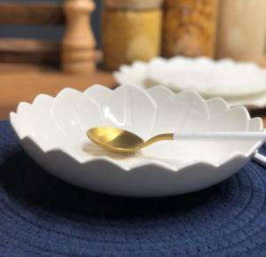 Tekbir Papatya 24 Parça Porselen Yemek Takımı