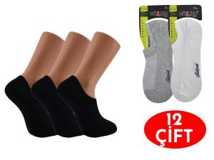 Gülçek Dikişsiz Erkek Sneaker Çorap 12