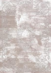 Hitit Halı Lidya Lüx Serisi Kaymaz Taban Dekoratif Halı 4358 Vizon