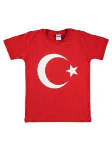 Civil Boys Erkek Çocuk Tişört 10-13 Yaş Kırmızı