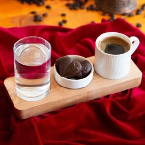 Joy Kitchen Dikdörtgen Kahve Sunumu UP00570