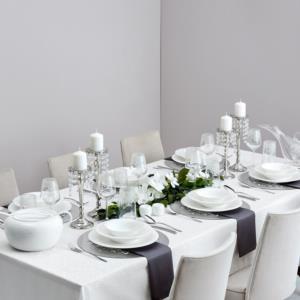 Karaca Fine Pearl Bella 86 Parça 12 Kişilik İnci Yemek Takımı