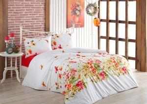 Evlen Home 4 Parça Cennet Somon Çift Kişilik Nevresim Takımı NEV-00022