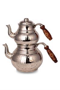 Saint Belisama Klasik Bakır Çaydanlık Küçük Nikel SB19642