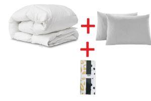 Zeynep Tekstil Çift Kişilik Yorgan+2 Adet Yastık + Yastık Kılıfı