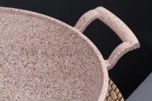 Falez Creamy 30cm Döküm Kavurma Tavası CRE-3033