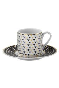 Kütahya Porselen Rüya 775112 Desen Kahve Fincan Takımı