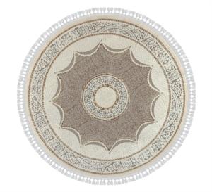 Nazar Halı 160 x 160 cm Daire Boğaziçi Serisi 5205