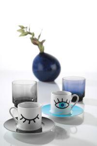 Kütahya Porselen Rüya 11008 Desen Kahve Fincan Takımı