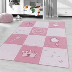 Ayyıldız Halı Play Polyamid Çocuk Halısı 2905 Pink