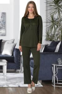 Mecit Yeşil Lohusa Pjama Takımı