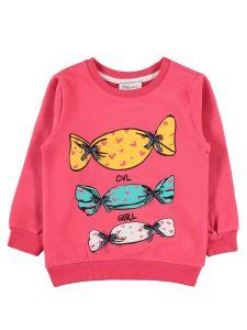 Cvl Kız Çocuk Sweatshirt 2-5 Yaş Narçiçeği