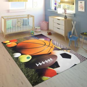 Markaev 3D Polyester PVC Tabanlı Halı 910