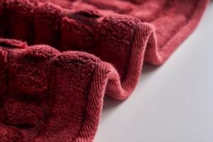 Alanur Domino Eskitme Bordo Cotton Halı
