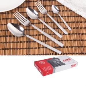 Fms Silver 30 Parça Kutulu Çatal Kaşık Takımı- 8007